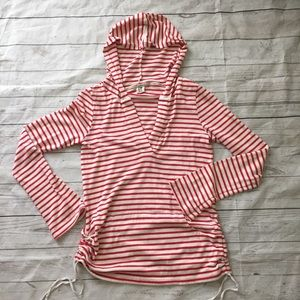 Roxy Beach Bonfire Striped Hoodie